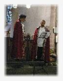 Franziskusfest 2011 in der Stiftskirche St. Castor in Karden mit der franziskanischen Gruppe Tautropfen